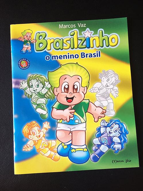 Livro Brasilzinho, o Menino Brasil