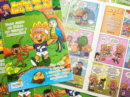 Santa Fé do Sul (SP) ganha personagem criado pelo cartunista Marcos Vaz