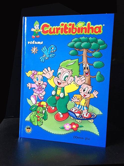 Álbum Curitibinha Volume 1 em quadrinhos