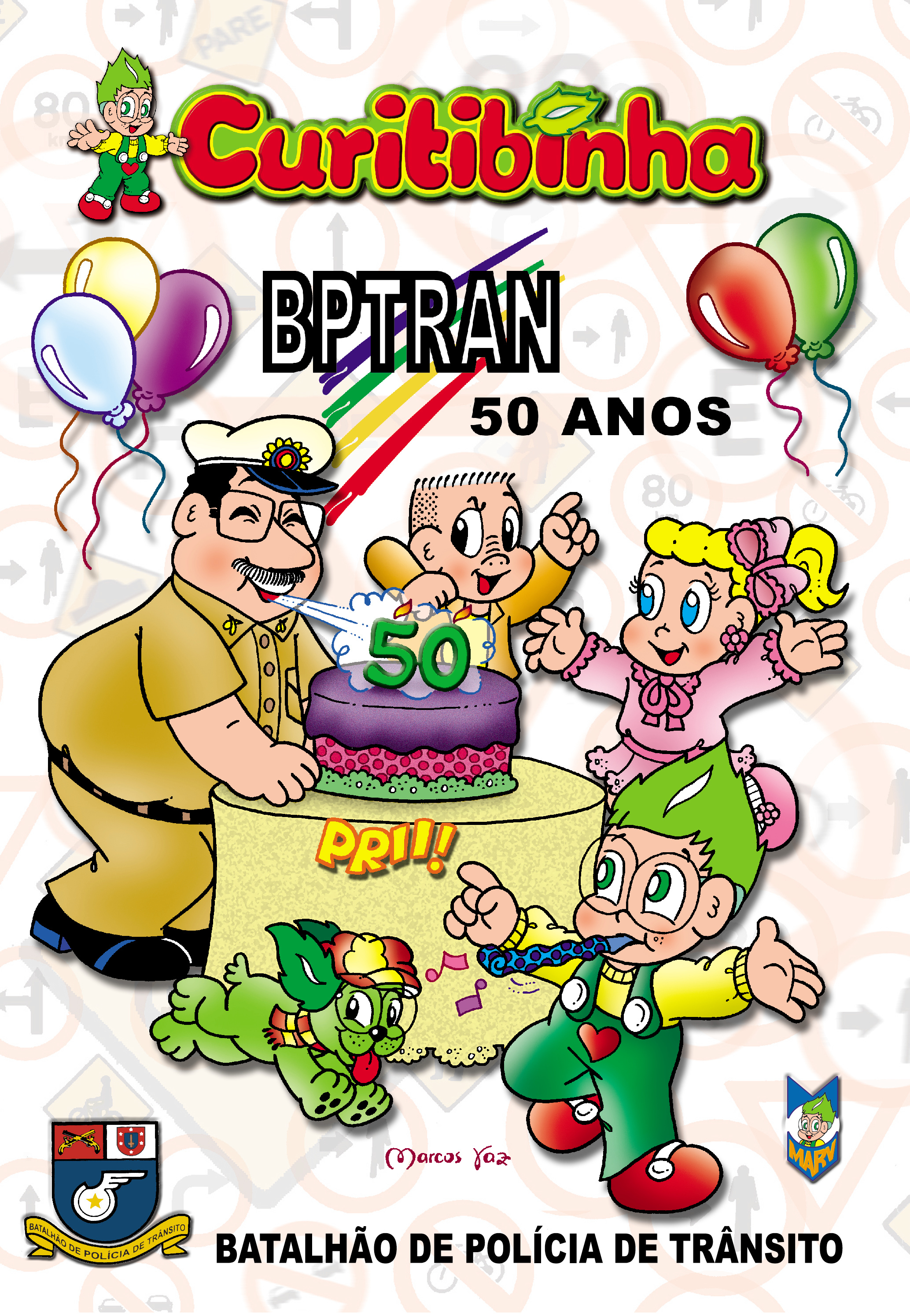 Curitibinha - BPTRAN 50 Anos