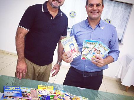 Gibiteca Umuaraminha recebe importante doação de quadrinhos do SESI