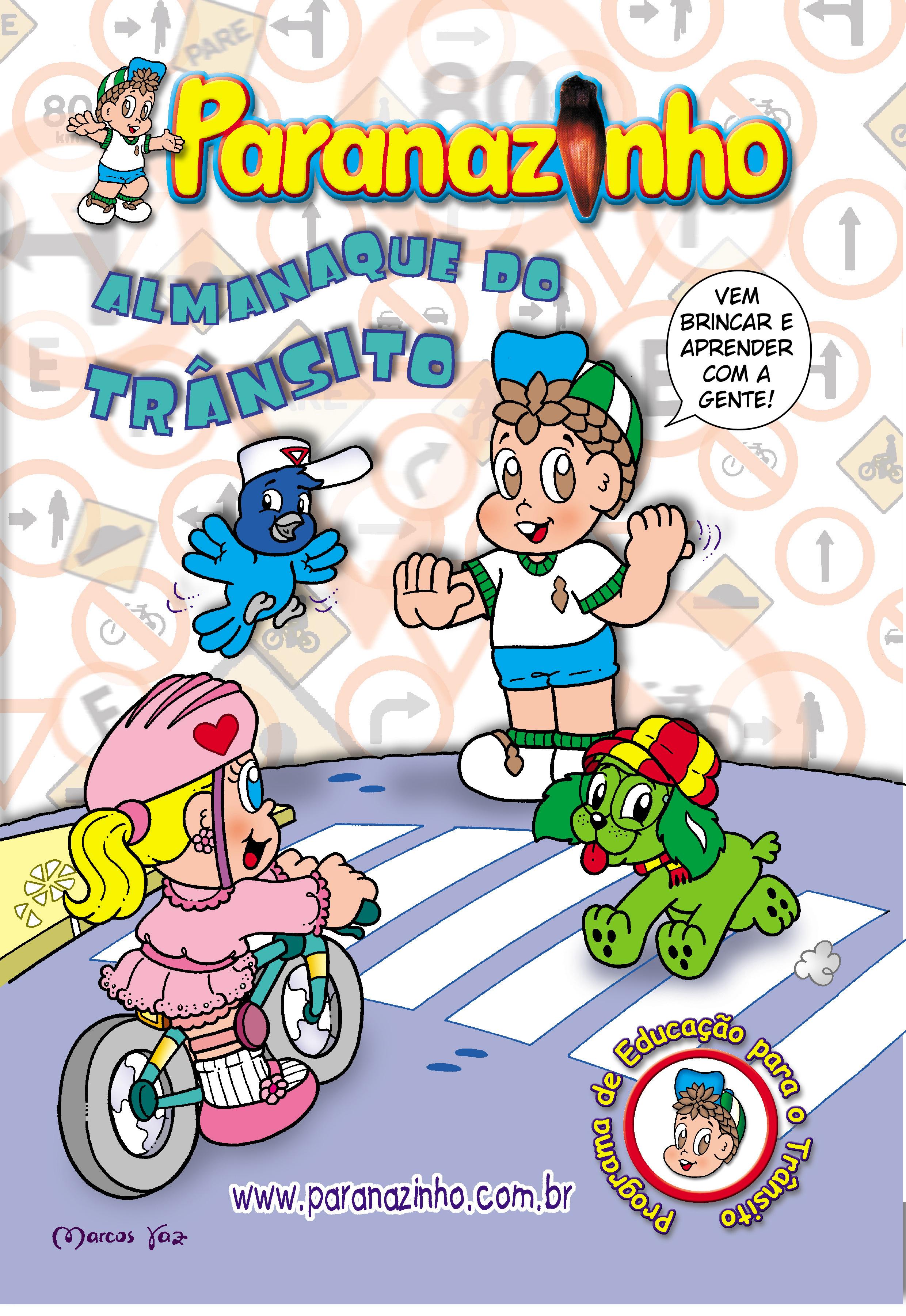 Paranazinho - Almanaque do Trânsito