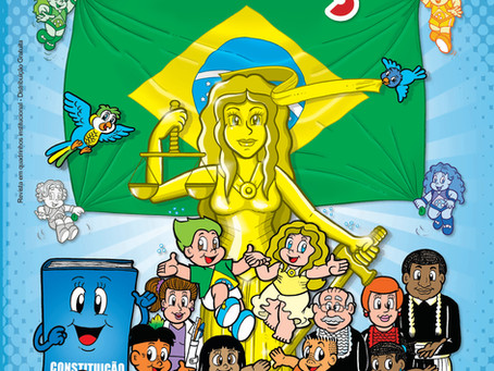 Brasilzinho - Cartilha da Justiça em quadrinhos chega ao Acre
