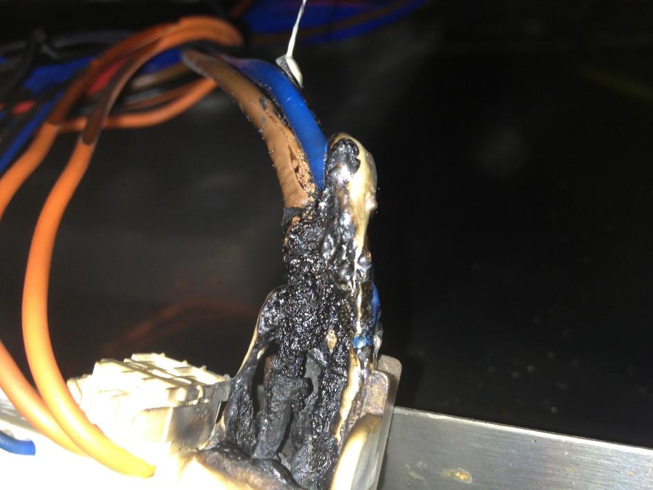 Burnt out dishwasher board 01
