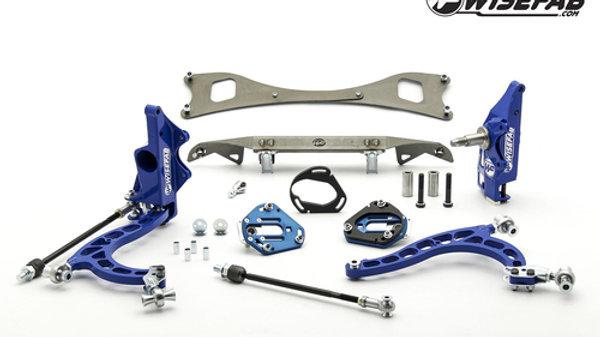 Wisefab Nissan S13 V2 Lock Kit w/ rack relocation kit