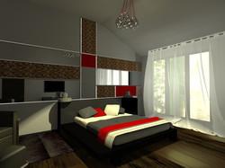Гостевая комната в загородном доме