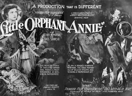 LITTLE ORPHANT ANNIE *Special Restoration Review* by Glenn Andreiev and David Rosler
