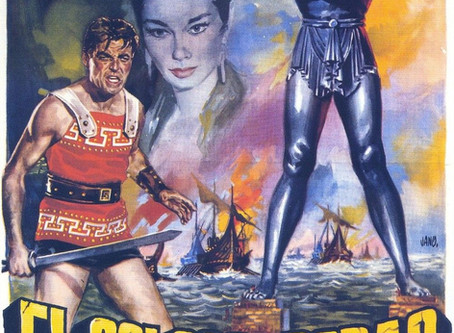 THE COLOSSUS OF RHODES  on Blu-ray by Roy Frumkes