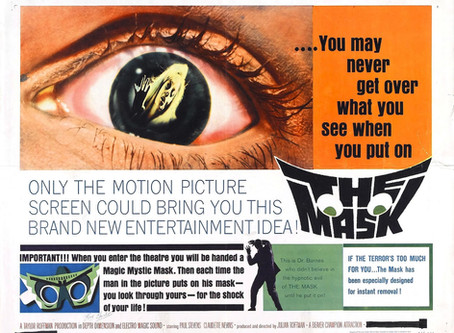 THE MASK (1961) in 3D Blu-ray by David Rosler