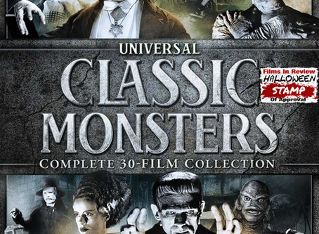 UNIVERSAL CLASSIC MONSTERS: COMPLETE 30-FILM COLLECTION  -  A Blu-ray Review by Roy Frumkes
