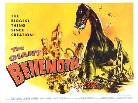 THE GIANT BEHEMOTH  -  2 Blu-ray Reviews by Roy Frumkes and David Rosler