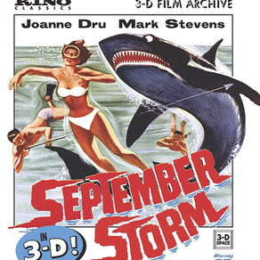 SEPTEMBER STORM (1960) review by David Rosler, 3D Blu-ray