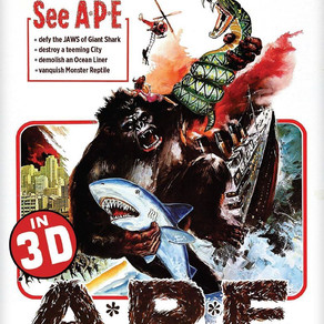 """""""A.P.E."""" 3D Blu-ray Review by David Rosler"""
