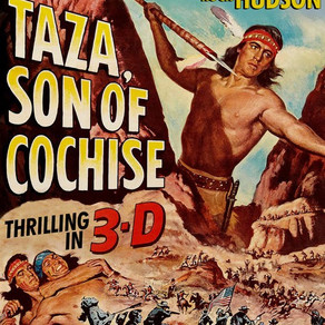 TAZA, SON OF COCHISE 3D Blu-ray review by David Rosler