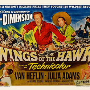 WINGS OF THE HAWK Blu-ray review by David Rosler