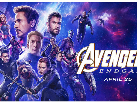 THE AVENGERS: ENDGAME In theaters, review by Victoria Alexander