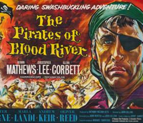 PIRATES OF BLOOD RIVER - A Blu-ray review by Roy Frumkes