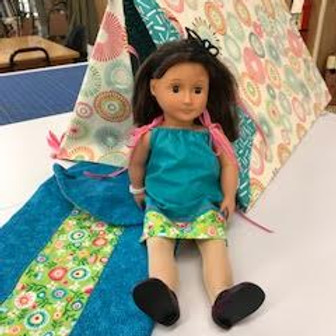 Sew For My American Girl Doll Camping Trip