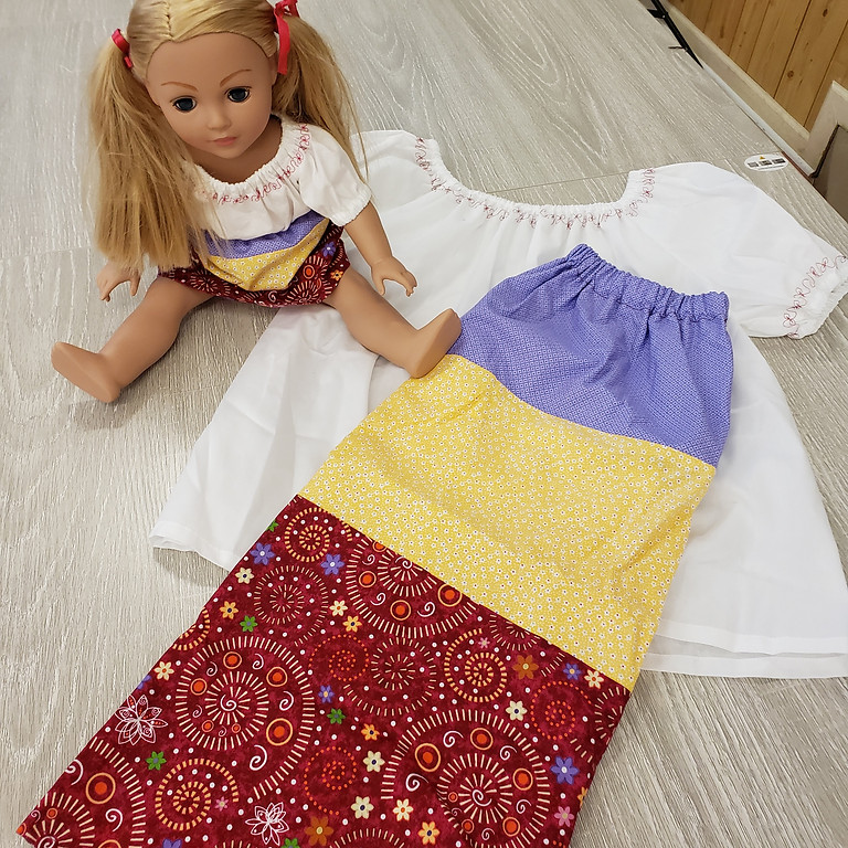 Sew For My American Girl Doll and Me