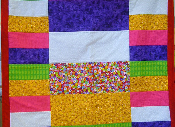August Childs Play Quilt