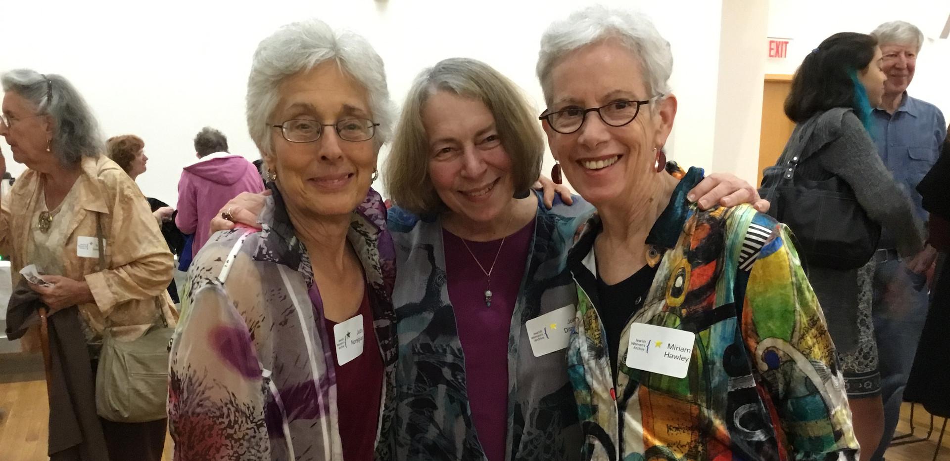 Judy Norsigian, Joan Ditzion, Miriam Haw