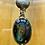 Thumbnail: ref-KAJMN 76  Labradorite and Shell necklace