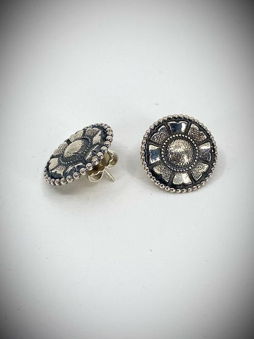 ref- KAJME 34  Flower bead earrings