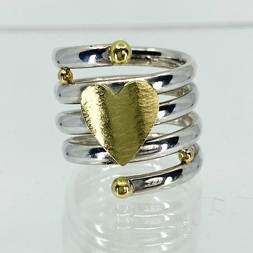 ref- KAJMR 56  Spiral ring