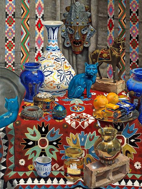 """""""Maria's Vase""""   oil on linen"""