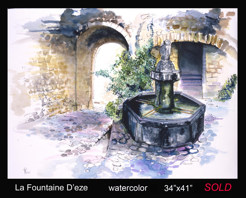 La Fountaine D'eze