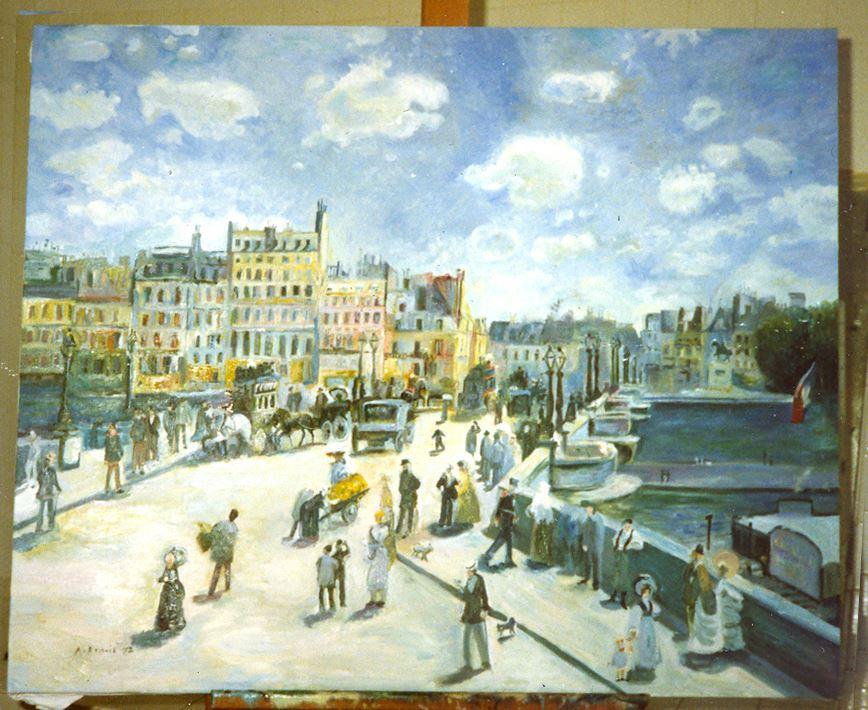 Pont Neuf Renoir