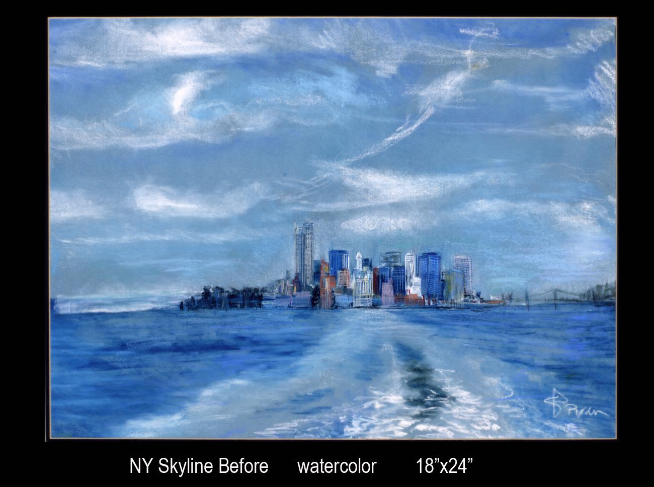 NY Skyline Before