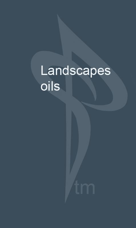 landscapes oil
