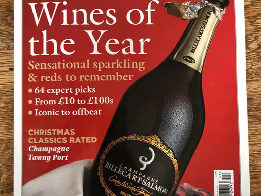 Billecart-Salmon's Cuvee Nicolas Francois features on the front cover of Decanter magazine
