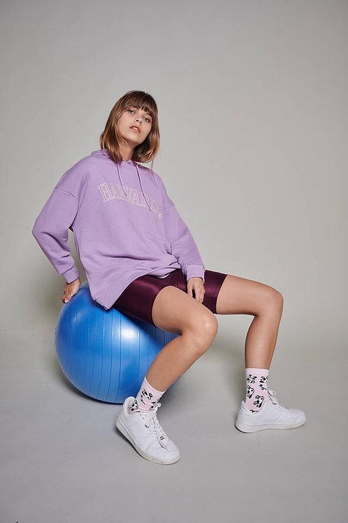 Harvard Baskılı Oversize Sweatshirt
