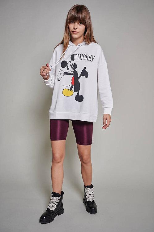 Mickey Mouse Baskılı Sweatshirt