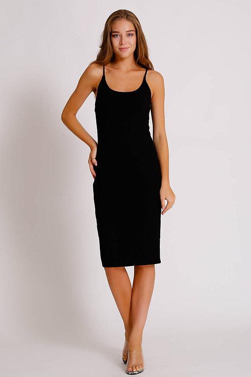 Uzun Askılı Elbise