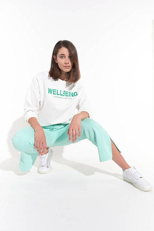 Wellbeing Baskılı Oversize Sweatshirt