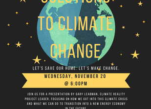 World Scientists Declare Climate Emergency - Missouri Flood Recovery - Climate Reality Talk in St. L