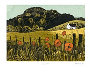 Poppies & Downs Card