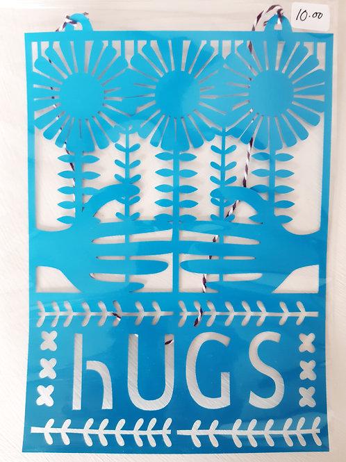 Papercut HUGS (Blue)