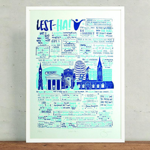 Lest-Ha! Comedy Festival Limited Edition Signed Print