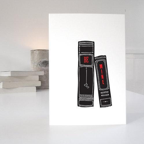 'Be Mine' Valentines Card
