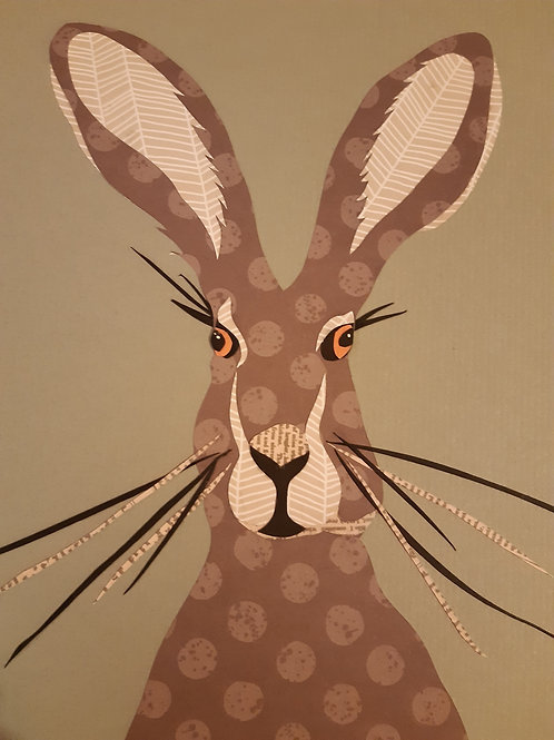 Original Papercut Hare