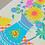 Thumbnail: Summer Blooms A3 Risograph Print