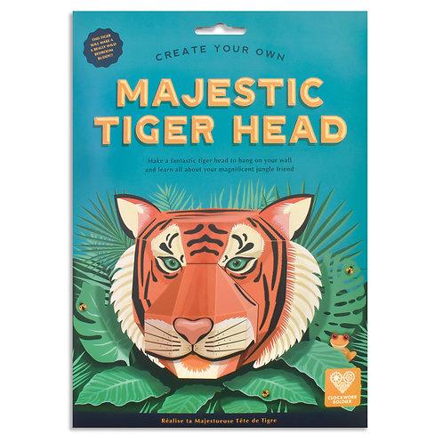 Majestic Tiger Head