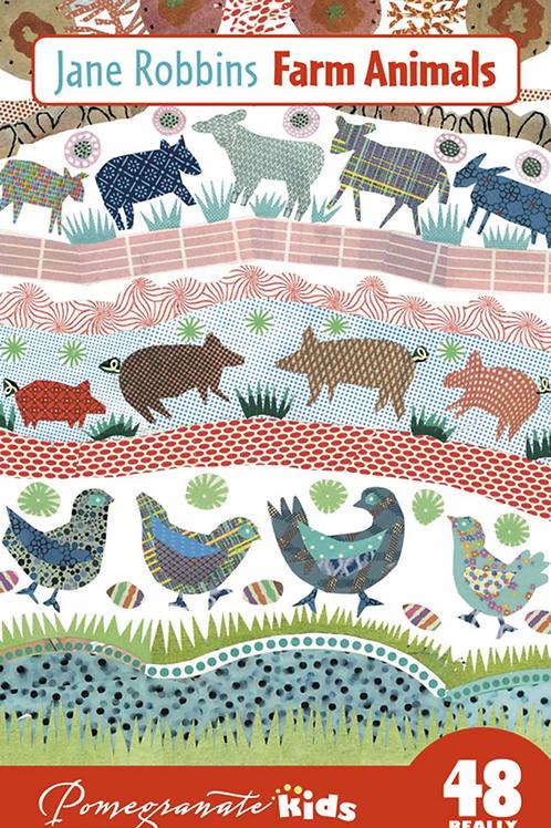 Farm Animals Floor Puzzle