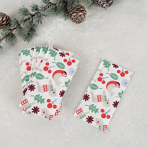 Nordic Christmas Tissue Pocket Pack