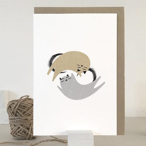 Love Cats 2 Card