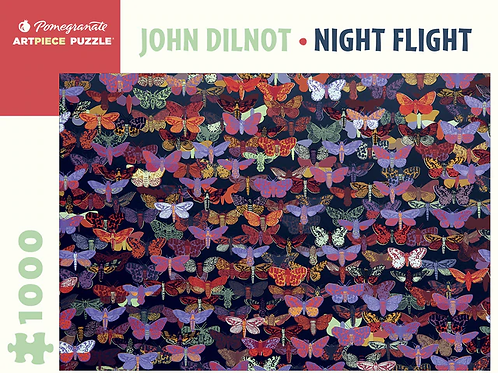 Night Flight 1000 Piece Puzzle